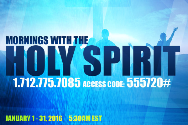 Mornings with Holy Spirit web