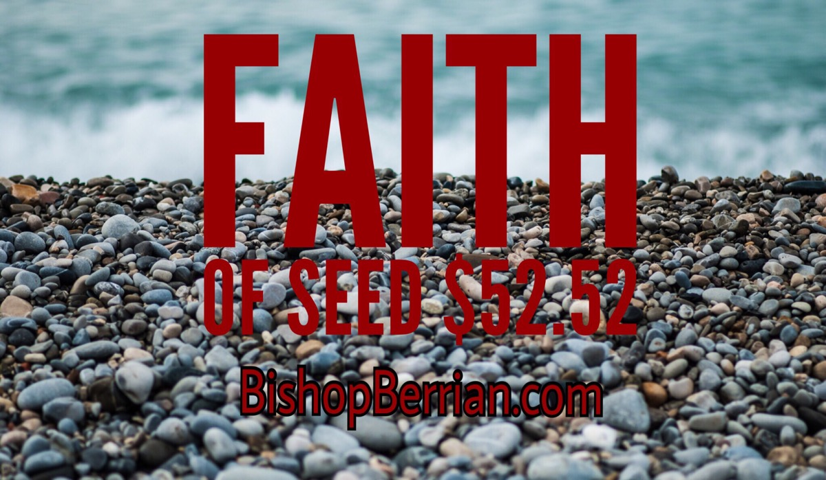Faith of seed $52.52