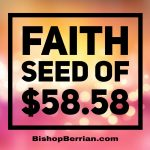FAITH SEED OF $58.58