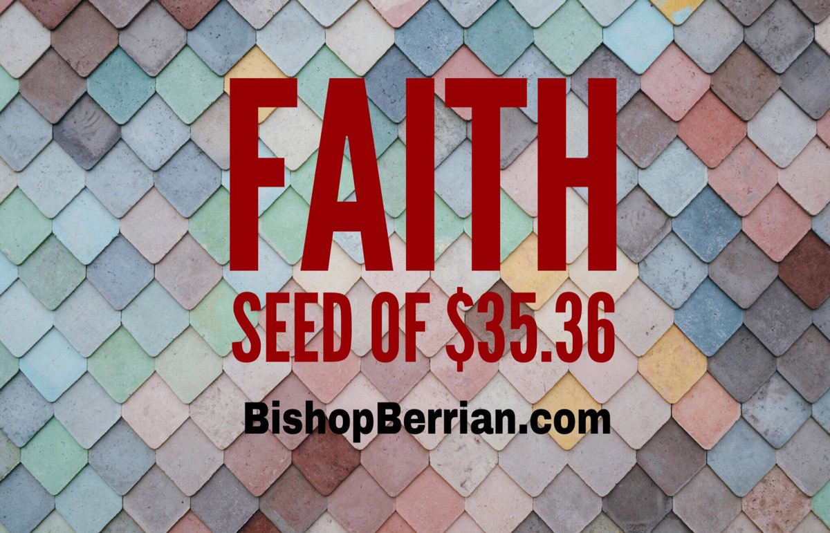 Faith of seed $35.36