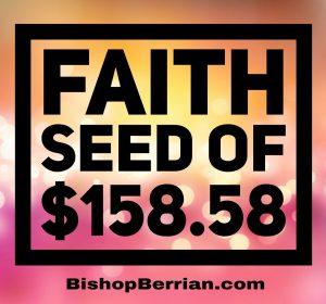 FAITH SEED OF $158.58