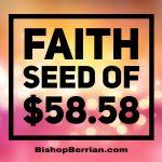 FAITH SEED OF $58.58