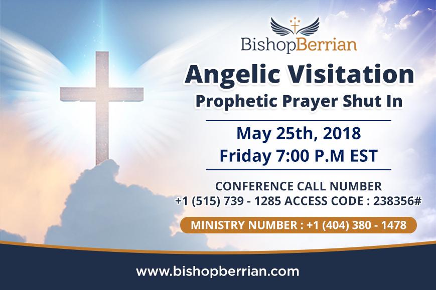 Angelic Visitation Prophetic Prayer Shut In